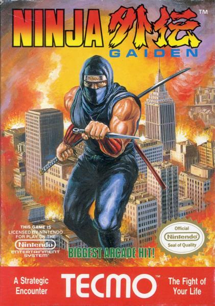 ninja gaiden - cover