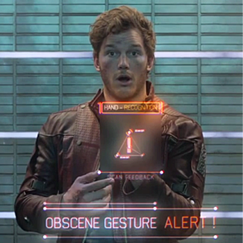 star lord gesture