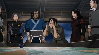 bolin bird call - legend of korra book three finale