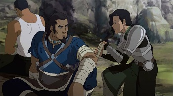 tonraq kuvira zelda williams - legend of korra book three finale