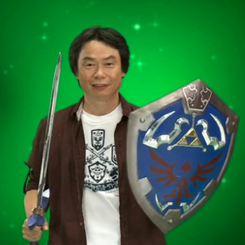 Miyamoto Legend of Zelda Shield
