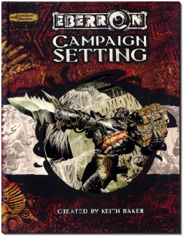 Eberron Campaign Setting Book Cover