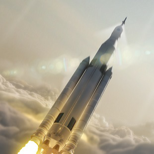 NASA Space Launch System Boeing 310x