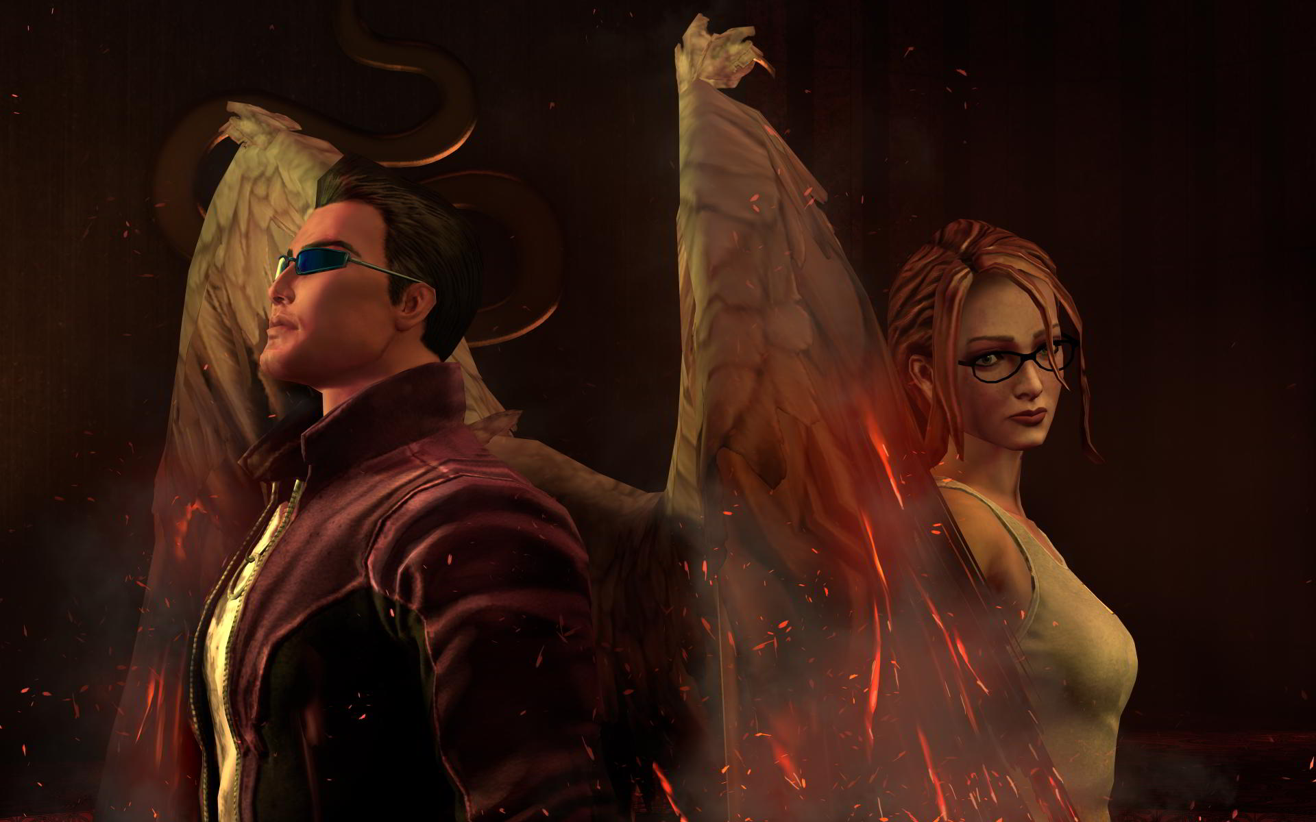 gat and kinzie in saints row gat out of hell