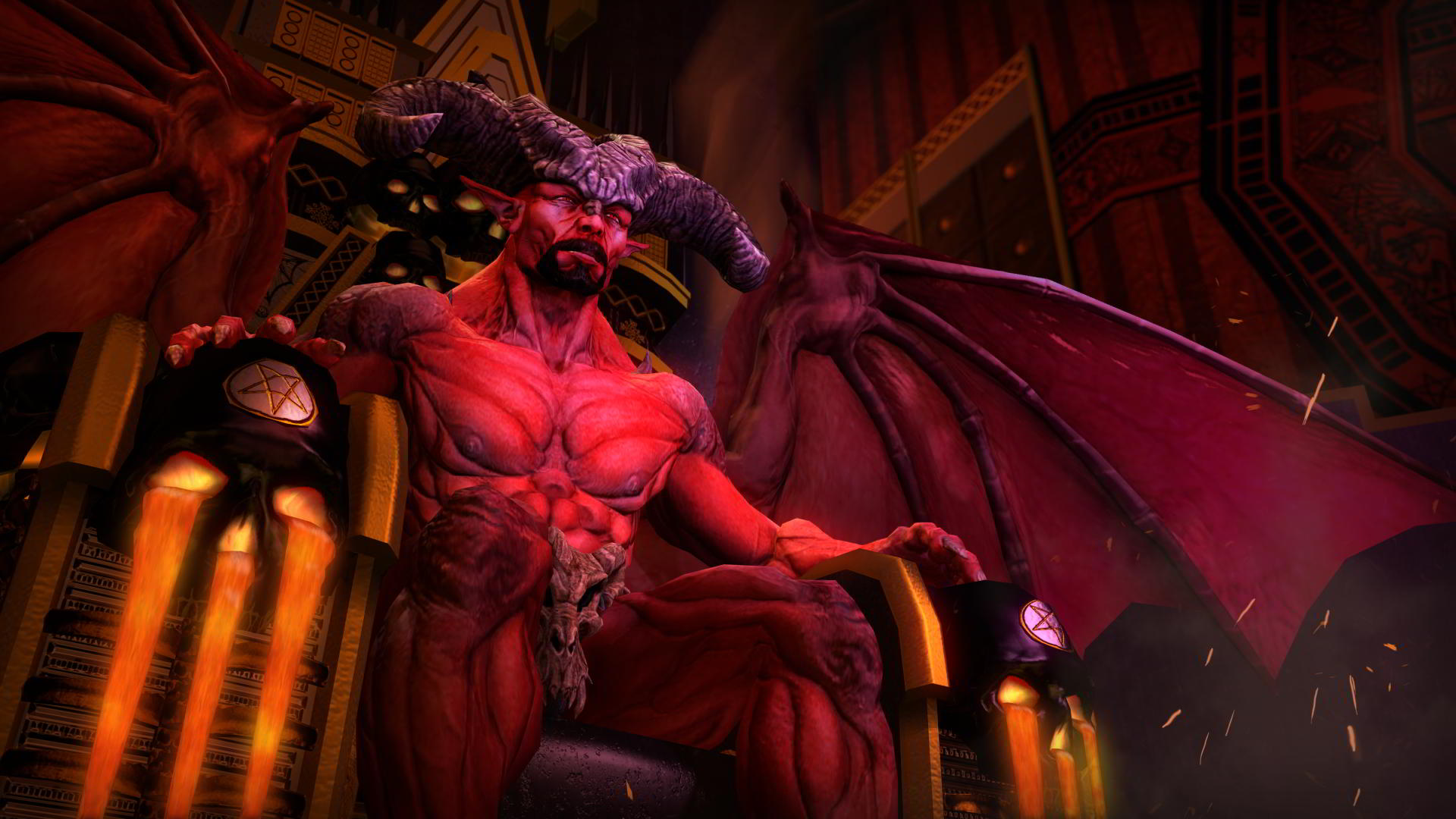 satan in saints row gat out of hell