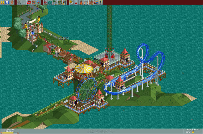 Rollercoaster Tycoon Good Old Review | Good Old Reviews