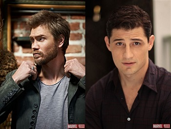 chad michael murray enver gjokaj marvels agent carter