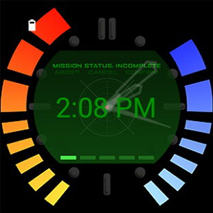 Secret Agent GoldenEye Watchface 310x