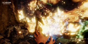 Lichdom Battlemage Fire Spell
