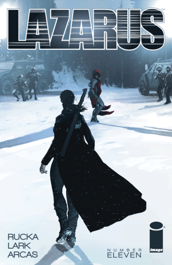 Lazarus 11 cover