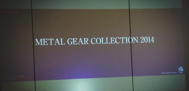 metal gear collection 2014