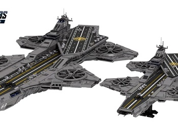 LEGO Helicarrier 350x250