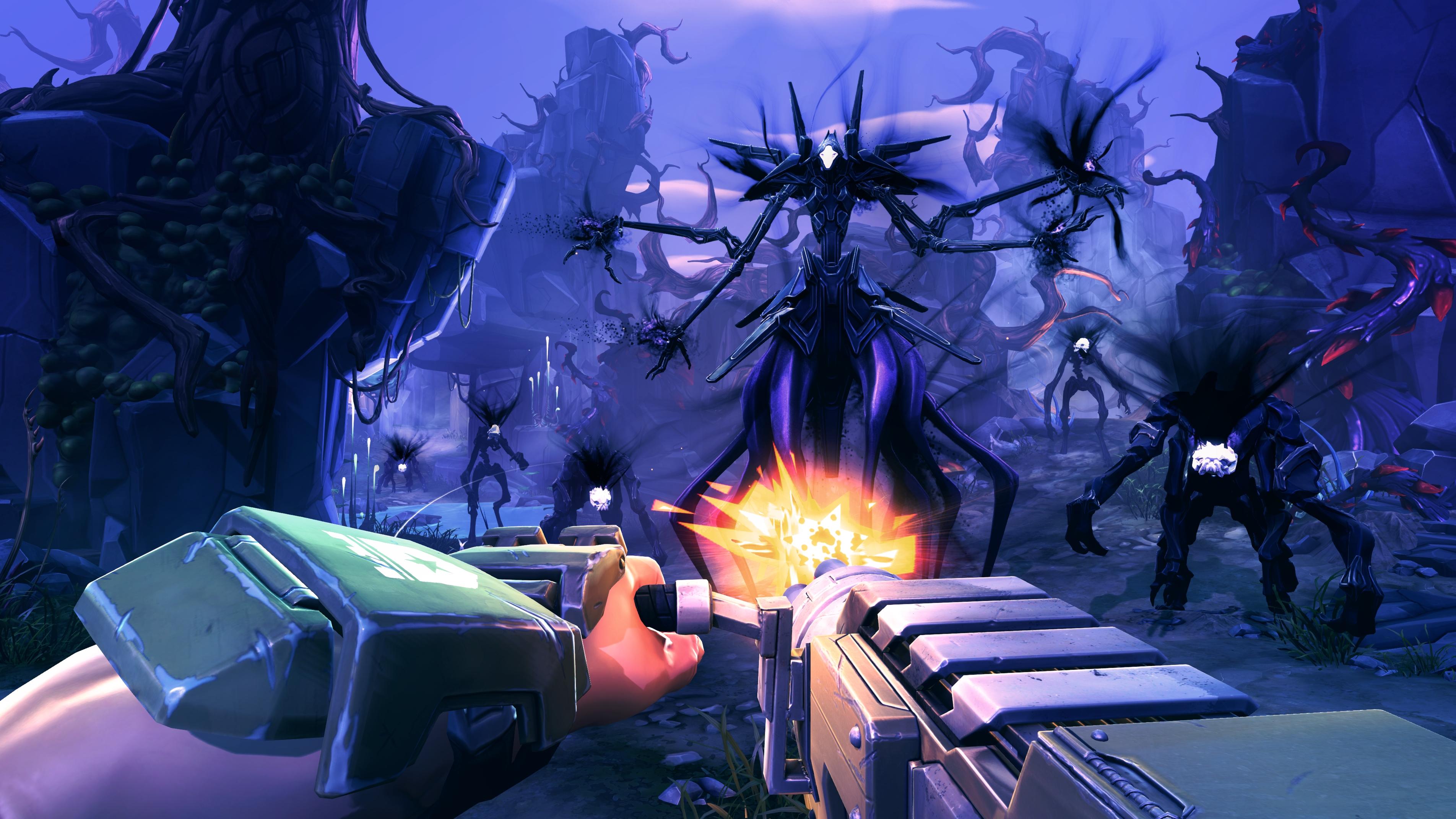 battleborn screenshot - campaign the varelsi arrive