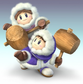 Ice Climbers super smash bros brawl