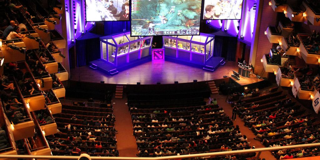 the international dota tournament