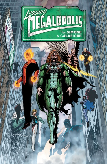 Leaving Megalopolis Dark Horse Cover