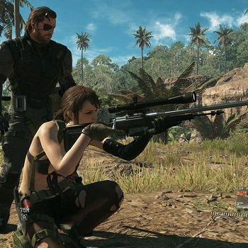 metal gear solid v the phantom pain snake quiet