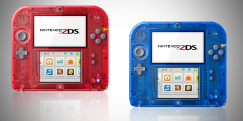 transparent plastic 2ds