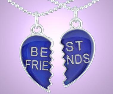 5 Piece bff Necklace Puzzle Piece Friendship   Pinterest