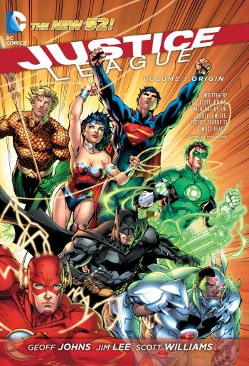 Justice League Vol 1 Origins