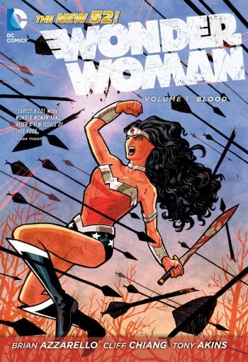 Wonder Woman Vol 1 Blood