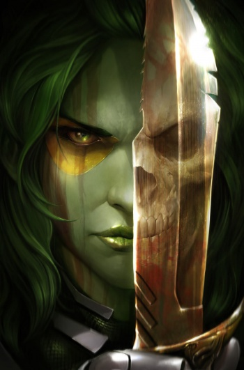 nycc gamora cover francesco mattina