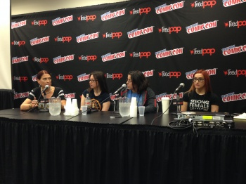 Strong Female Characters NYCC 14 panel 02