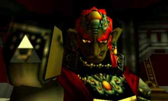 Ganondorf and the Triforce