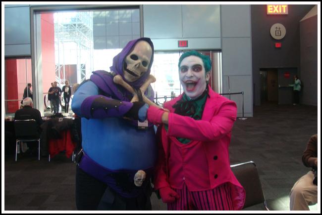joker and skeletor