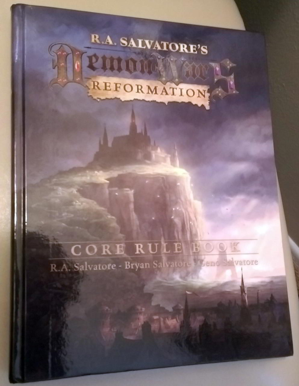 the rule book for demonwars