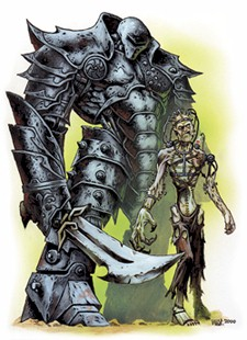 d&d flesh and iron golem