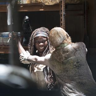 twd michonne zombie