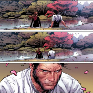 death of wolverine page