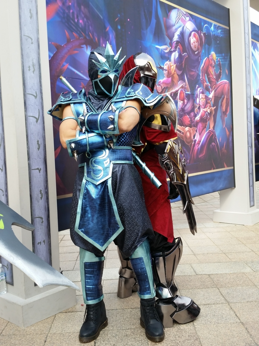 Gallery For > League Of Legends Shen Cosplay