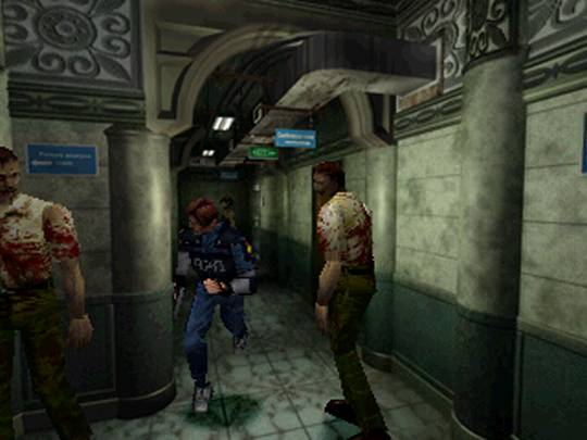 Good Old Review Resident Evil 2 Good Old Reviews The Escapist