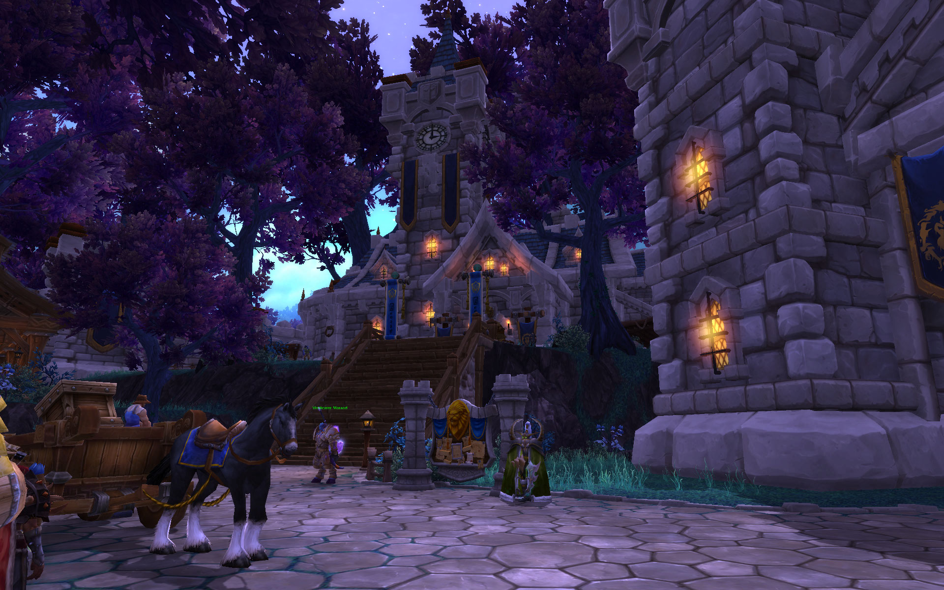 warlords of draenor alliance town hall tier 3