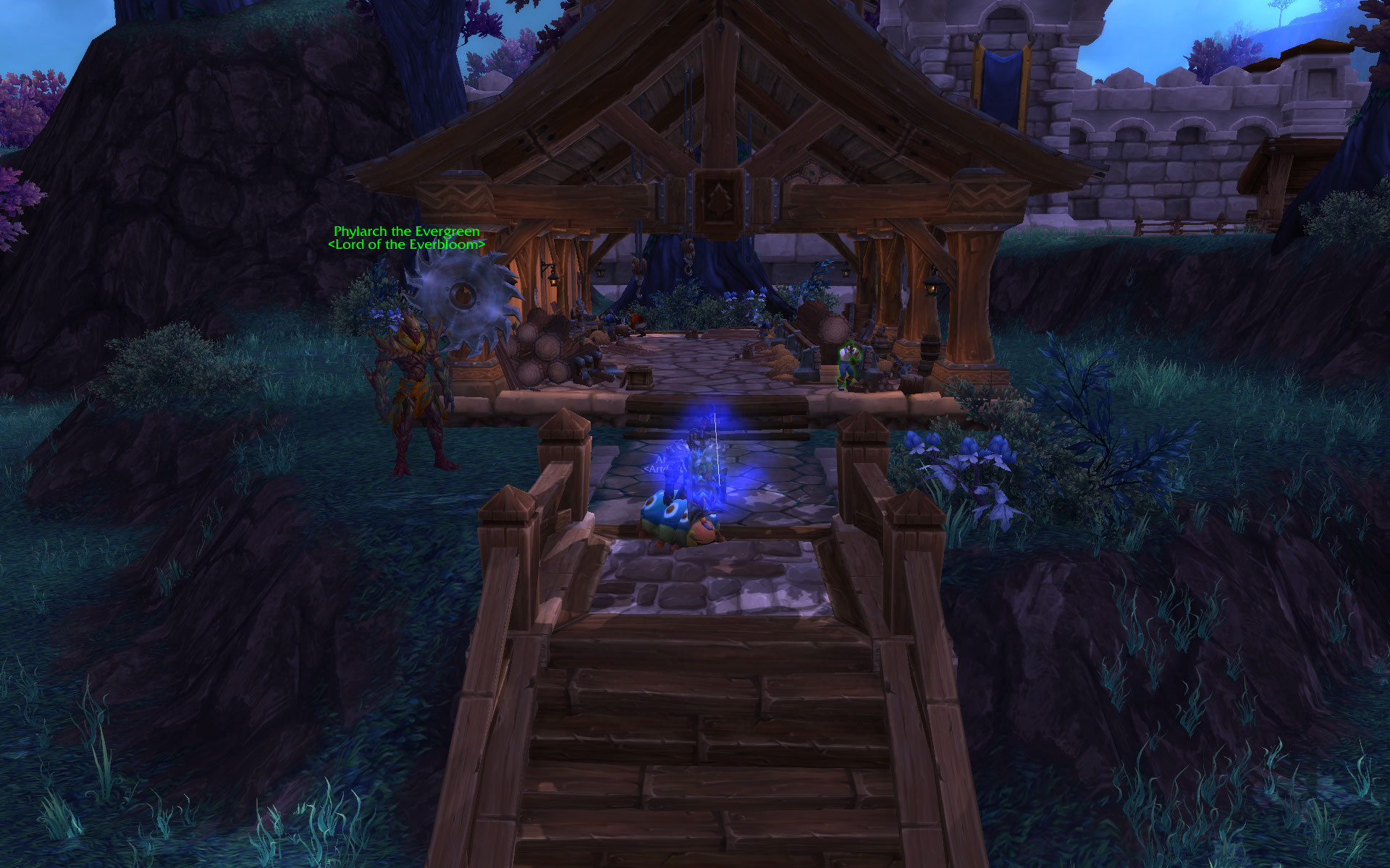 warlords of draenor tier 3 lumber mill