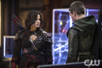 Nyssa and The Arrow