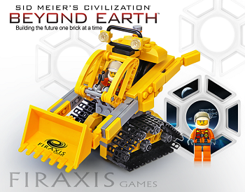beyond earth lego