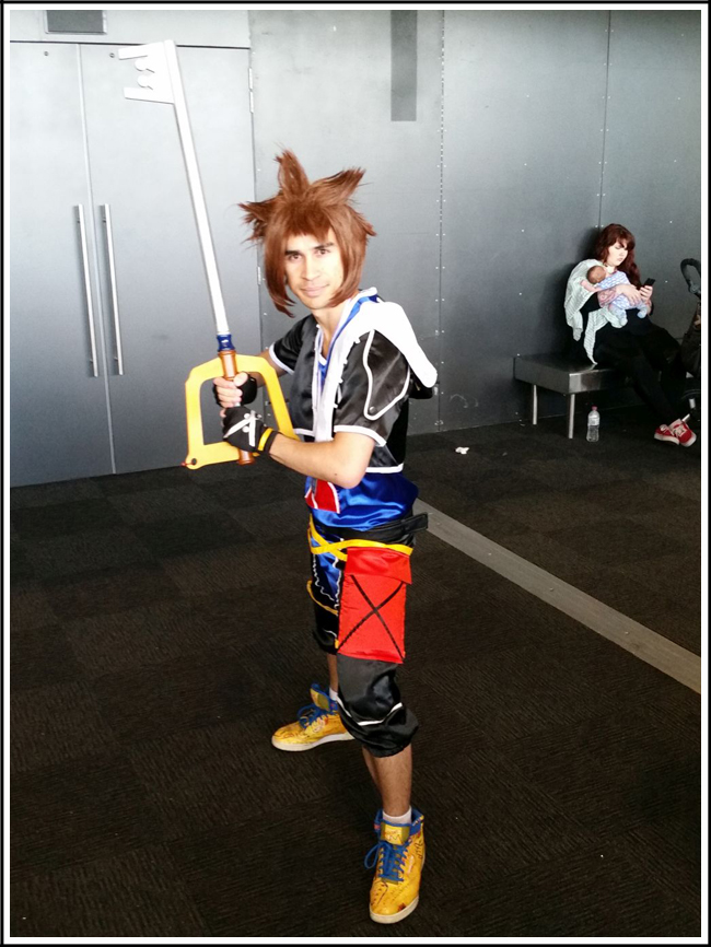 pax aus cosplay day 2 024 kingdom hearts sora