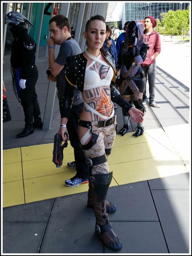 pax aus cosplay day 2 006 - mass effect - jack