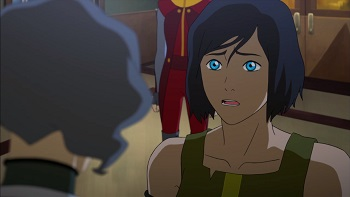 korra legend of korra enemy at the gates
