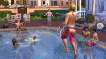 The Sims 4 pools update