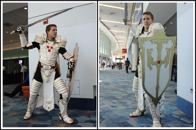 blizzcon 05 crusader white armor