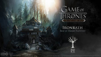 Game of Thrones Ironrath Telltale Games