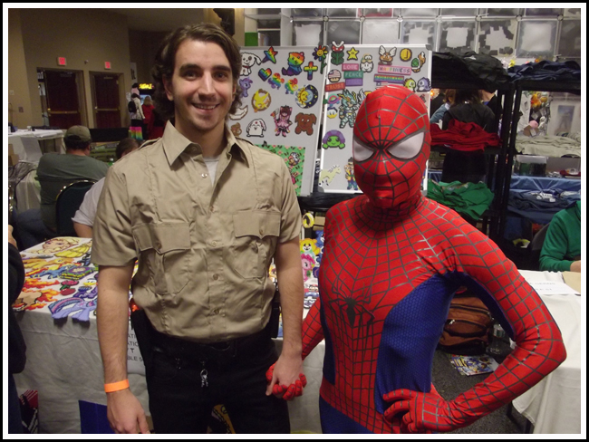 vermont cc rick grimes and spidey