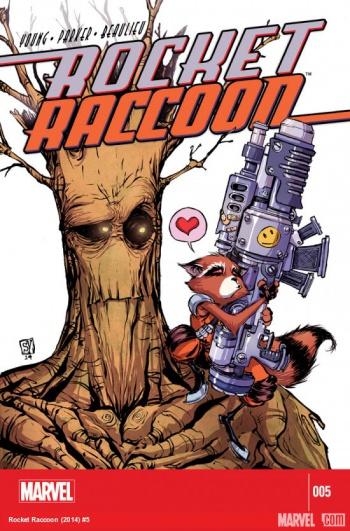 rocket raccoon 5
