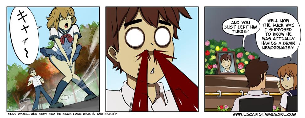 Anime Nosebleeds Are Serious Health Concerns Critical