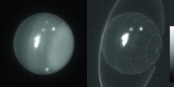 Uranus Storm infrared