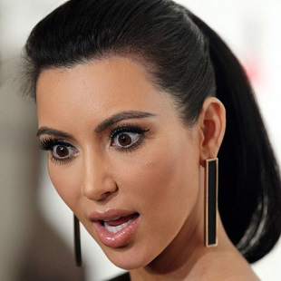 Kim Kardashian Shocked 310x